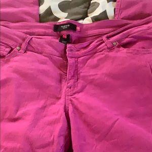 Pink torrid jeans